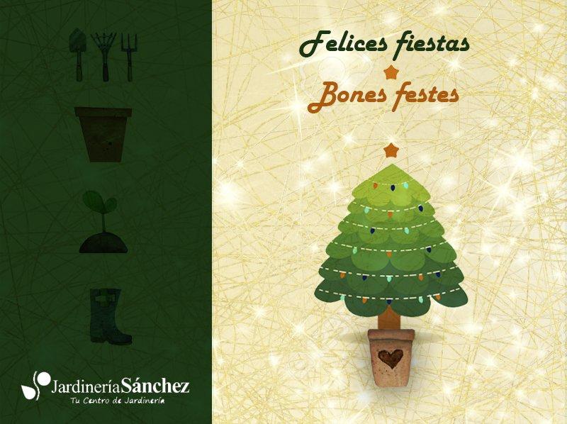 Bon nadal feliz navidad centro jardineria sanchez centro for Jardineria la noguera