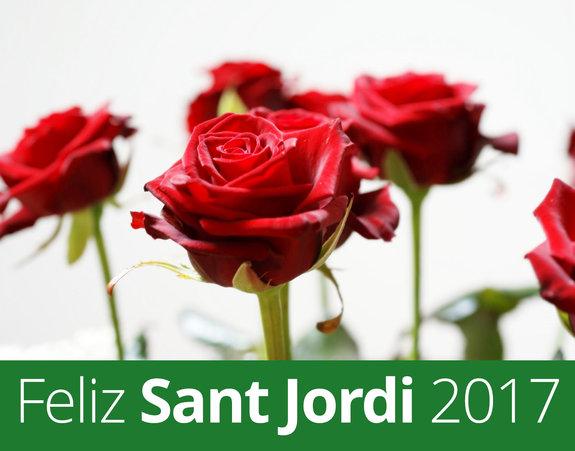 Feliz Sant Jordi 2017.